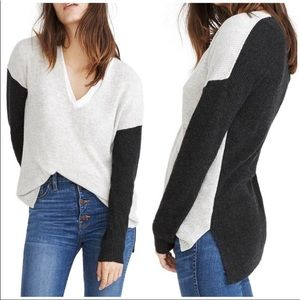 MADEWELL Warmlight V-neck Pullover Sweater H4026